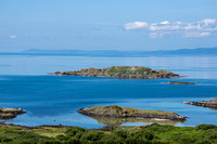 Eilean Garbh of the west coast of Gigha